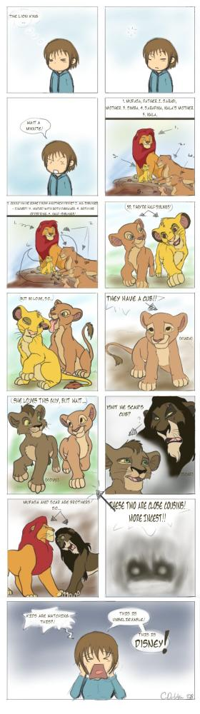 Lejonkungen - en incestsaga