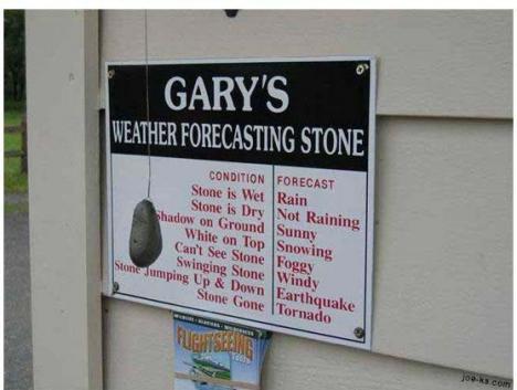 Väder sten