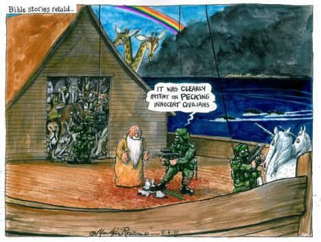 M Rowson on the Gaza flotilla attack