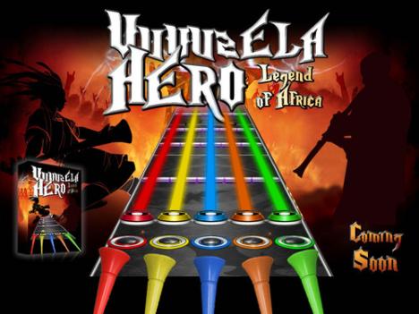 Vuvuzelan får ett eget TV-spel Vuvuzela Hero
